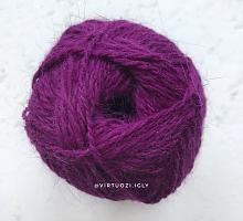 Пряжа Рэббит ангора (Rabbit Angora), цвет 78 фиолетовый