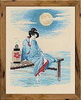 """Набор для вышивания 1509 """"Светлая луна"""" 24x30 см"""