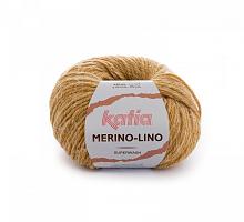 Пряжа Merino-Lino, цвет 508 горчица