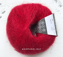 Пряжа Cielo (Сиело) 1611 глубокий красный