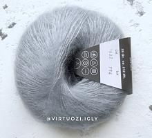Пряжа Cielo (Сиело) 1602 голубовато-серый