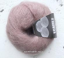 Пряжа Cielo (Сиело) 1607 бежево-розовый