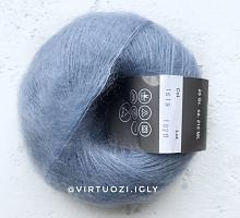 Пряжа Cielo (Сиело) 1619 голубая сталь