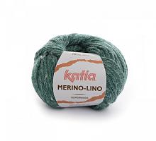 Пряжа Merino-Lino, цвет 513 зеленый