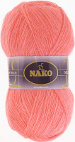 Пряжа Naco Mohair Delicate цвет 6138 розовый коралл