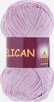 Пряжа Vita cotton Pelican  цвет 3968 светло сиреневый