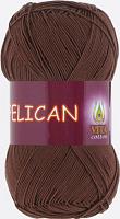 Пряжа Vita cotton Pelican  цвет 3973 светлый шоколад