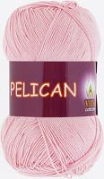Пряжа Vita cotton Pelican  цвет 3956 розовый