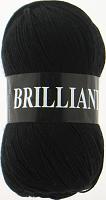 Пряжа Vita Brilliant, цвет 4952 черный