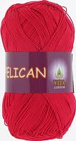 Пряжа Vita cotton Pelican  цвет 3966 красный
