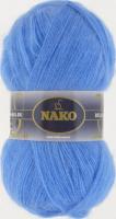 Пряжа Naco Mohair Delicate цвет 6120 голубой