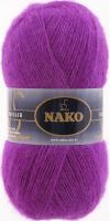 Пряжа Naco Mohair Delicate цвет 6117 лиловый