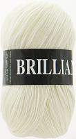 Пряжа Vita Brilliant (Бриллиант), цвет 4951 белый