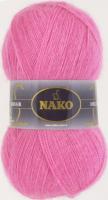 Пряжа Naco Mohair Delicate цвет 6112 розовый