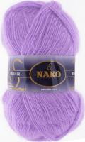Пряжа Naco Mohair Delicate цвет 6135 сиреневый