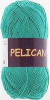 Пряжа Vita cotton Pelican  цвет 3979 зелено бирюзовый