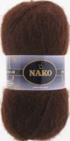 Пряжа Naco Mohair Delicate цвет 6106 коричневый