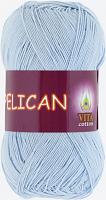 Пряжа Vita cotton Pelican  цвет 3974 голубой