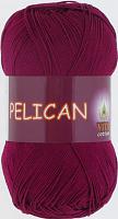 Пряжа Vita cotton Pelican  цвет 3955 винный