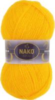 Пряжа Naco Mohair Delicate цвет 6142 желтый