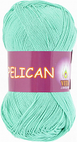 Пряжа Vita cotton Pelican  цвет 3970 морская волна