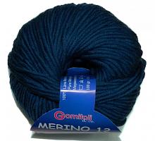 Мерино-12 цвет 9509 темно-синий