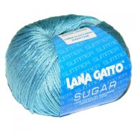 Пряжа Сахар (SUGAR), цвет 7665 серо-голубой