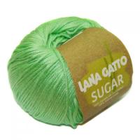 Пряжа Сахар (SUGAR), цвет 7652 светло-зеленый