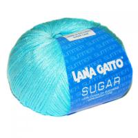 Пряжа Сахар (SUGAR), цвет 7664 голубой