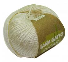Пряжа Сахар (SUGAR), цвет 7648 молочный