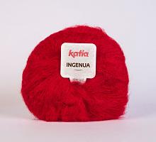 Мохер INGENUA (Ингения) цвет 4 красный