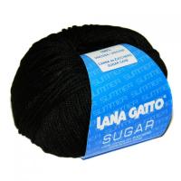 Пряжа Сахар (SUGAR), цвет 7672 черный