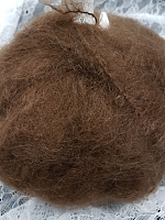 Мохер INGENUA (Ингения) цвет 22 коричневый