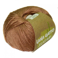 Пряжа Сахар (SUGAR), цвет 7650 светло-коричневый