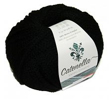 Пряжа Катенелла (Catenella) 008 черный