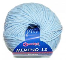 Мерино-12 цвет 86277 небесно-голубой