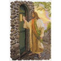 """Рисунок на канве 37х49см арт.1649 """"Иисус"""""""