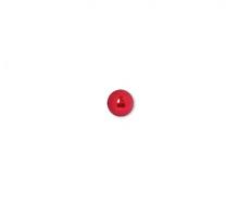 """Бусины """"Zlatka"""" пластик 18 мм, цвет 09 ярко-красный"""