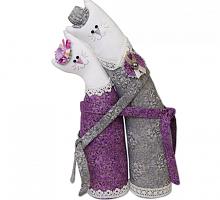 """Наборы для изготовления игрушек """"Miadolla"""" Коты-обнимашки серебряные"""