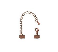Концевик с замком античная бронза