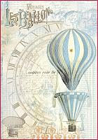 """Бумага рисовая мини - формат """"Воздушный шар"""""""