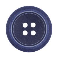 Пуговицы костюмные с проколами 16 мм, цвет D228 темно-синий