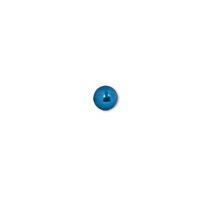 "Бусины ""Zlatka"" пластик 18 мм, цвет 13 синий"