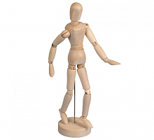 Манекен человека 21,5 см W - женщина