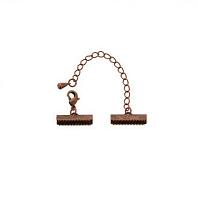 Концевик с замком под античную бронзу