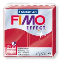 Полимерная глина FIMO «EFFECT» цвет рубиновый металлик