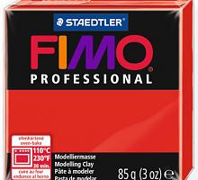 Полимерная глина FIMO «PROFESSIONAL» цвет чисто красный