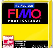 Полимерная глина FIMO «PROFESSIONAL» цвет чисто желтый