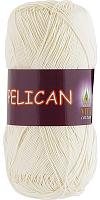 Пряжа Vita cotton Pelican  цвет 3993 молочный