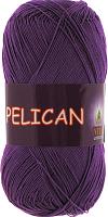 Пряжа Vita cotton Pelican  цвет 3984 фиолетовый